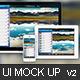 Apps / Website UI Representation Mock Up - GraphicRiver Item for Sale