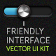 Blue Friendly Interface - GraphicRiver Item for Sale