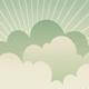 Landscape with Clouds & Radiant Light - Vertical - GraphicRiver Item for Sale