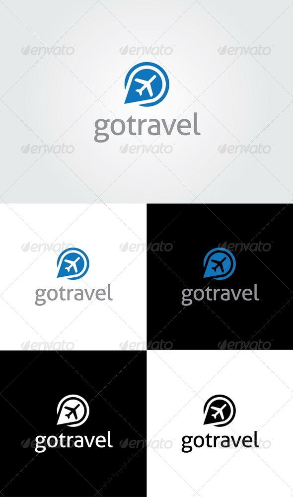 Go Travel Logo - Objects Logo Templates