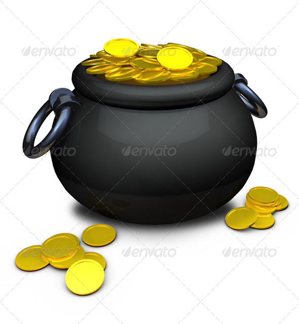 Pot of Gold - Miscellaneous Isolated Objects