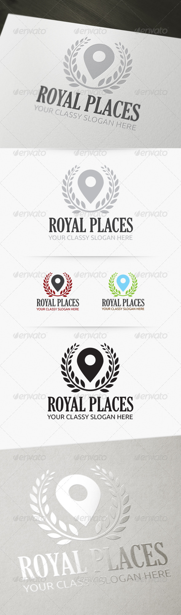 Royal Places Logo - Symbols Logo Templates