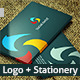Social TwistLogo and Stationery - GraphicRiver Item for Sale