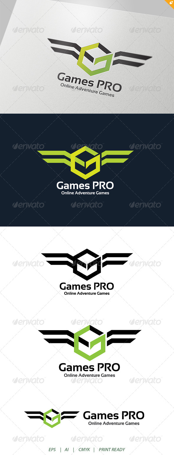 Game Pro Adventure Online Games Logo - Animals Logo Templates