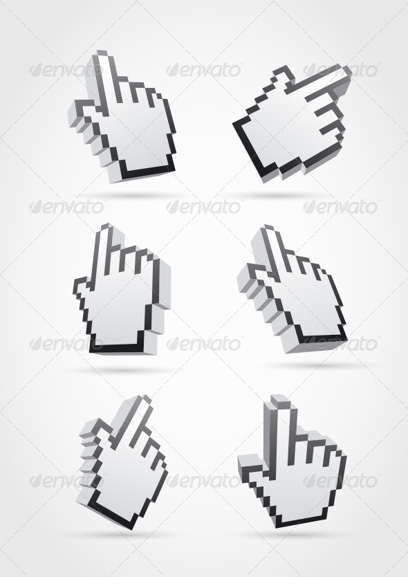 Cursor Hand Collection - Computers Technology