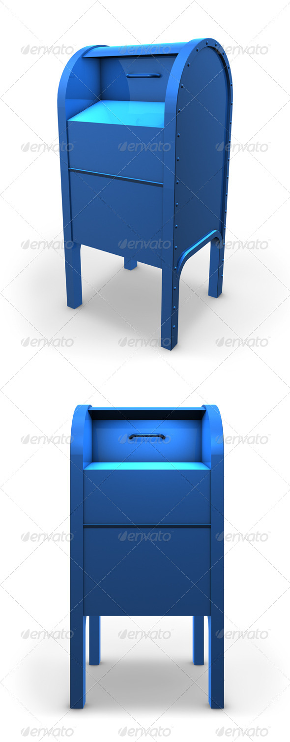 Mail Box - Miscellaneous Isolated Objects