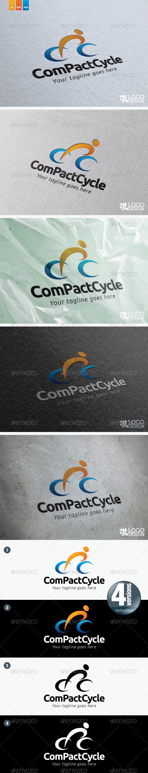 CompactCycle - Humans Logo Templates