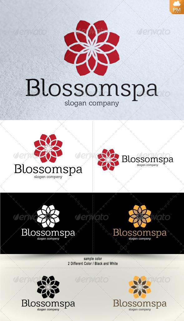 Blossom Spa - Nature Logo Templates