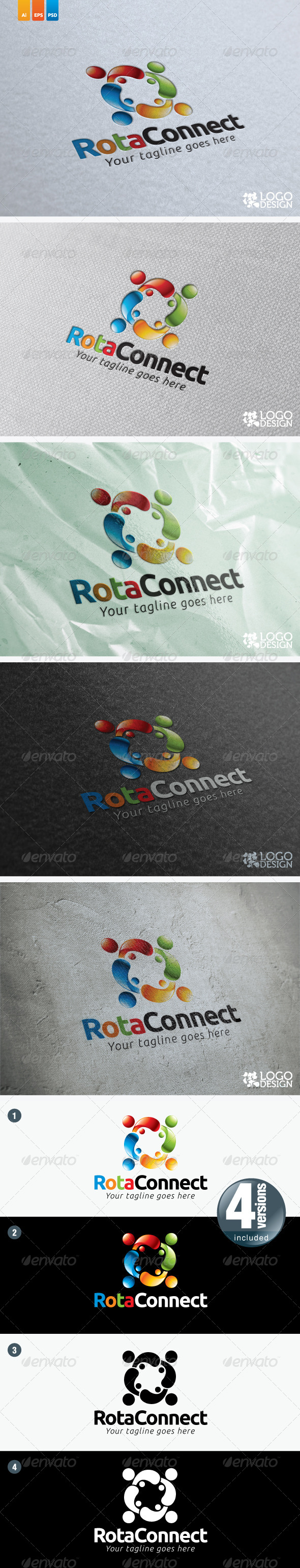 RotaConnect - Humans Logo Templates