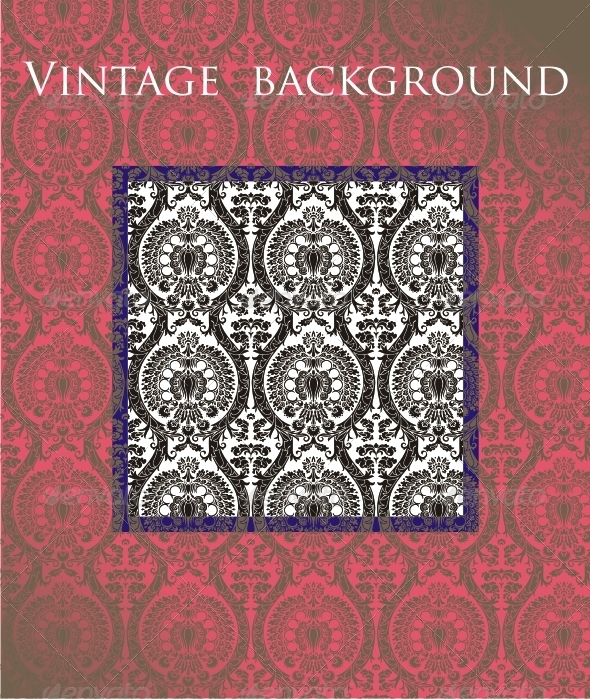 Vintage Background - Patterns Decorative