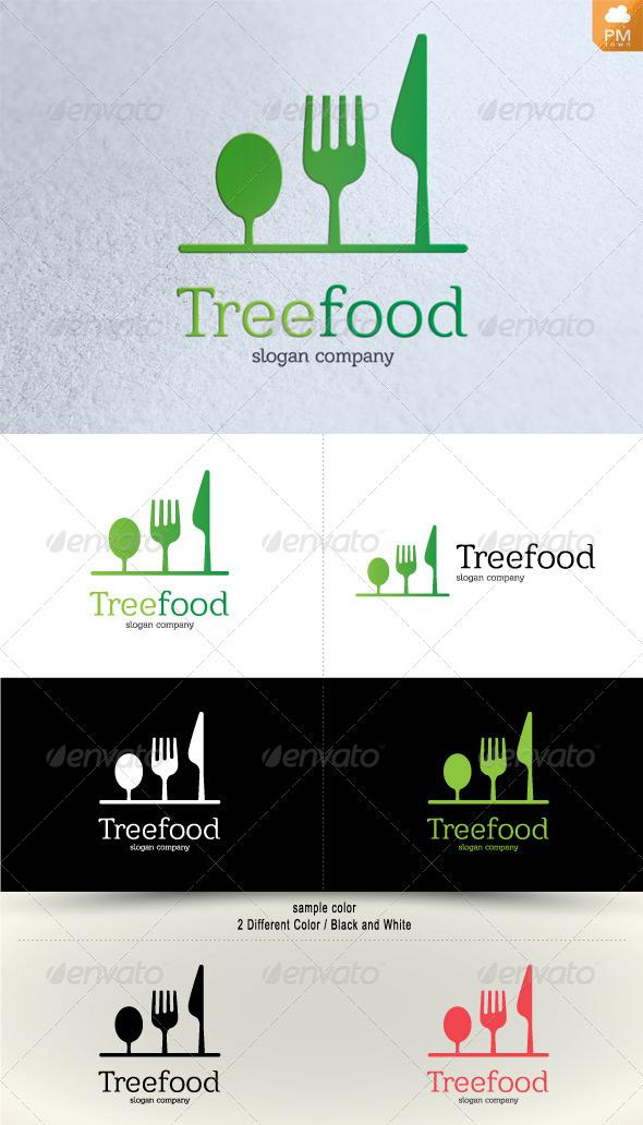 Tree Food - Food Logo Templates