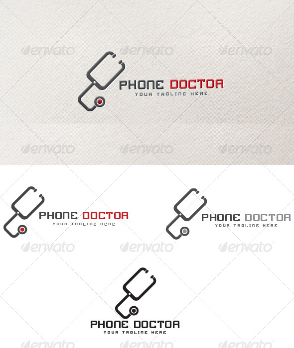 Phone Doctor - Logo Template - Objects Logo Templates