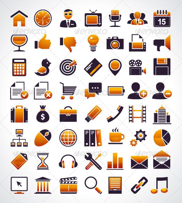 Universal Web Icons - Vectors