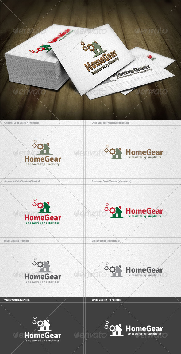 Home Gear Logo - Objects Logo Templates