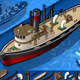 Isometric Old Tugboat - GraphicRiver Item for Sale