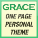 Grace - One Page Personal Theme