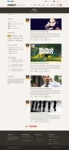 12 blog left sidebar.  thumbnail
