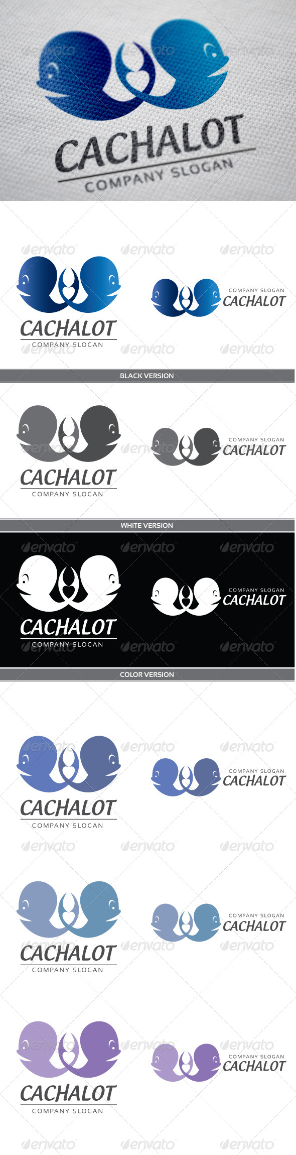 Cachalot - Animals Logo Templates