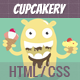 Cupcakery HTML - ThemeForest Item for Sale