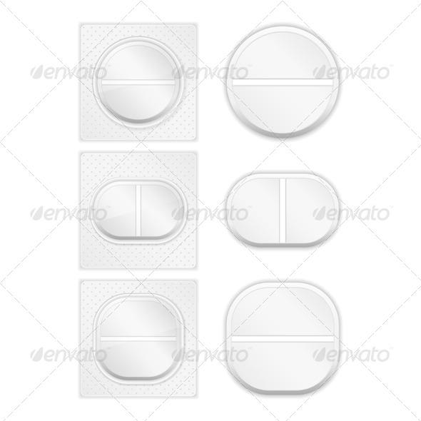 Pills - Health/Medicine Conceptual