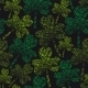 St. Patrick's Day Seamless Clover Pattern - GraphicRiver Item for Sale
