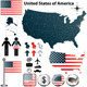 Map of USA - GraphicRiver Item for Sale