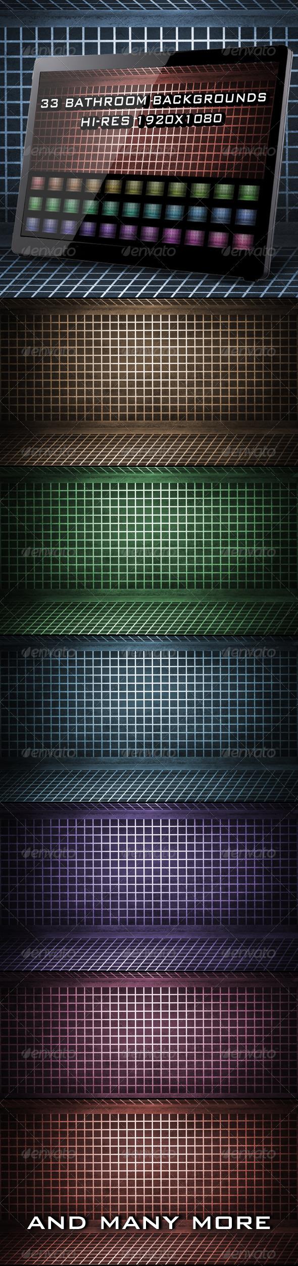33 Bathroom Backgrounds - Patterns Backgrounds