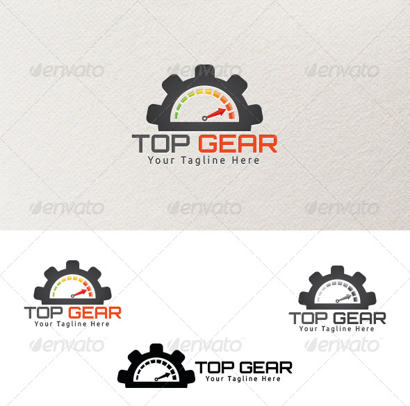 Top Gear - Logo Template - Symbols Logo Templates