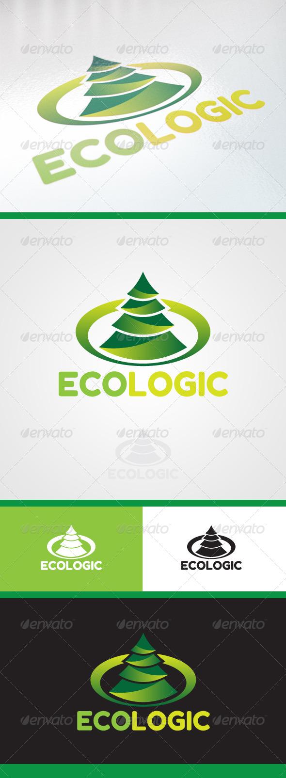 EcoLogic Logo  - Nature Logo Templates