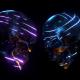 Neon Skulls Duo 4K Loop - VideoHive Item for Sale