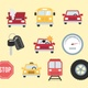 Auto & Road Icons Pack - VideoHive Item for Sale