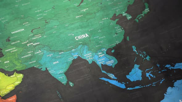 Asia world map by footagestock videohive play preview video gumiabroncs Images