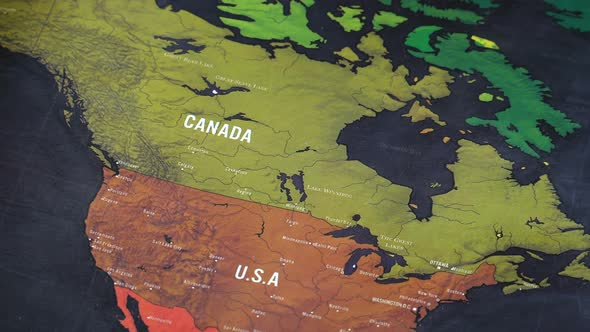 North america world map by footagestock videohive play preview video gumiabroncs Gallery