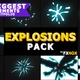 Explosion Elements Pack | Motion Graphics Pack - VideoHive Item for Sale