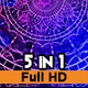 Water Coloured Mandala - VideoHive Item for Sale