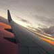 Airplane Sunrise - VideoHive Item for Sale