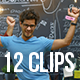 Collection of Happy Dancing People - Pack of 12 Clips in 4K - VideoHive Item for Sale