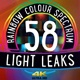 58 Rainbow Colour Spectrum Light Leaks - VideoHive Item for Sale