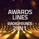 Awards Lines Background 2in1 - VideoHive Item for Sale
