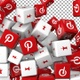 Social Media Icons Transition - Pinterest and Pinit - VideoHive Item for Sale