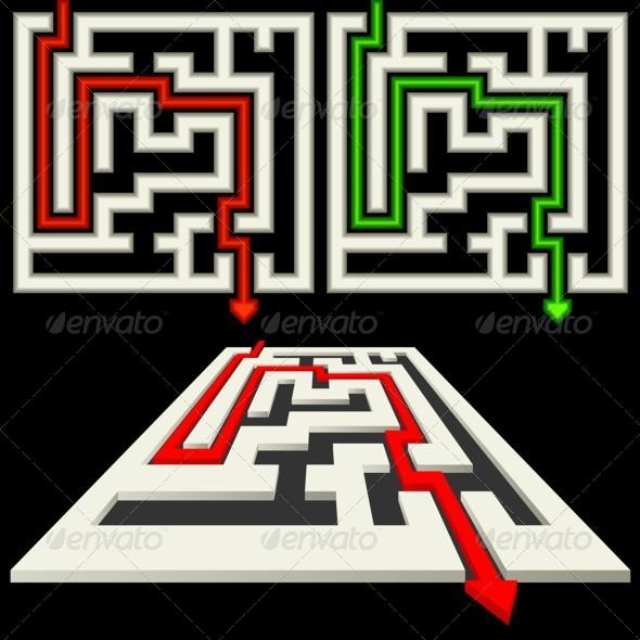 Labyrinth - Decorative Symbols Decorative