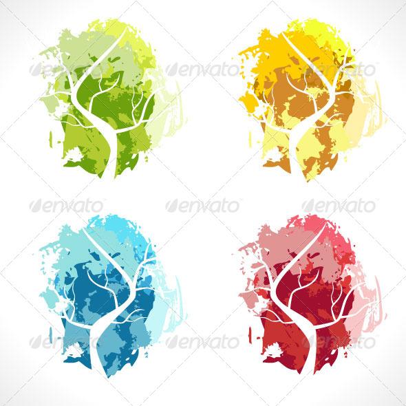 Abstract Tree - Decorative Symbols Decorative