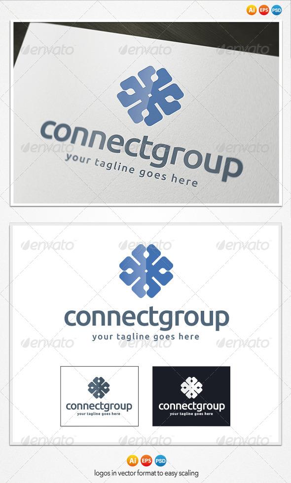 Connect Group Logo - Symbols Logo Templates