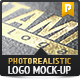 5 Photorealistic Logo Mock-Up | Pack 1 - GraphicRiver Item for Sale