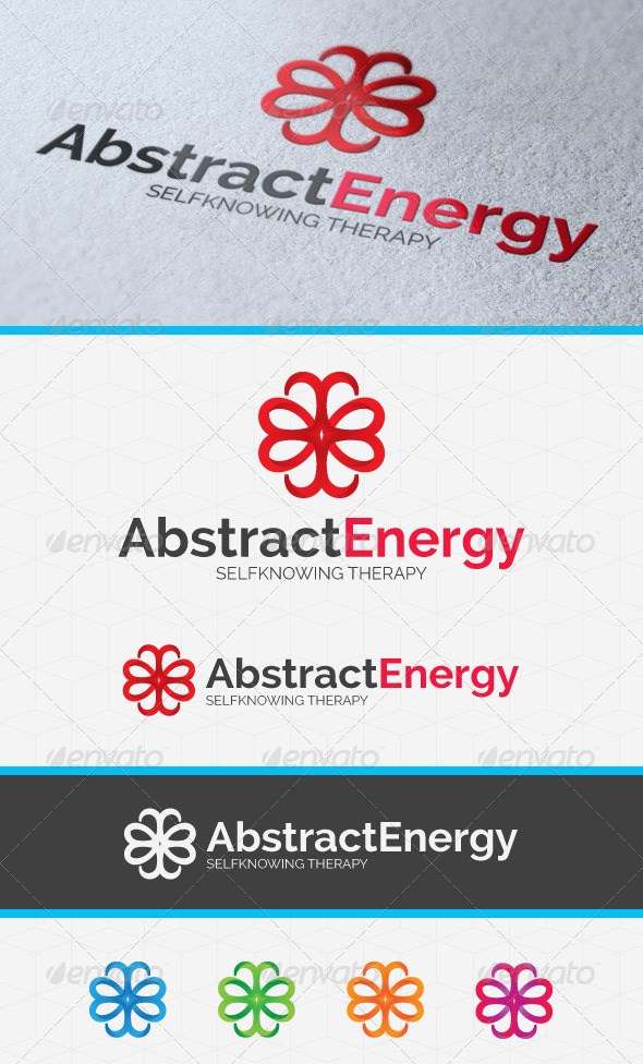 Abstract Energy Logo Template - Abstract Logo Templates