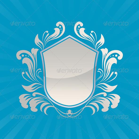 Shield Ornament - Decorative Symbols Decorative