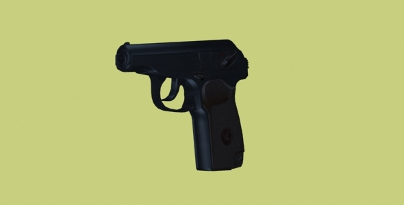 Makarov Pistol - 3DOcean Item for Sale