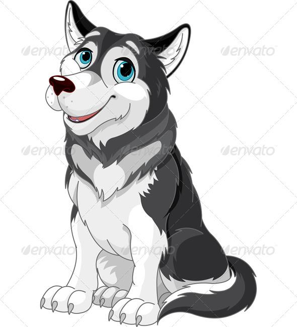 Alaskan Malamute - Animals Characters