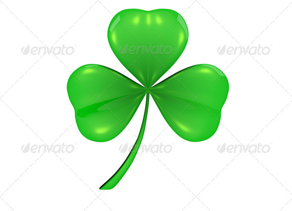 Shamrock - Clover - Miscellaneous Isolated Objects