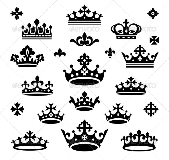 Set of Crowns - Retro Technology